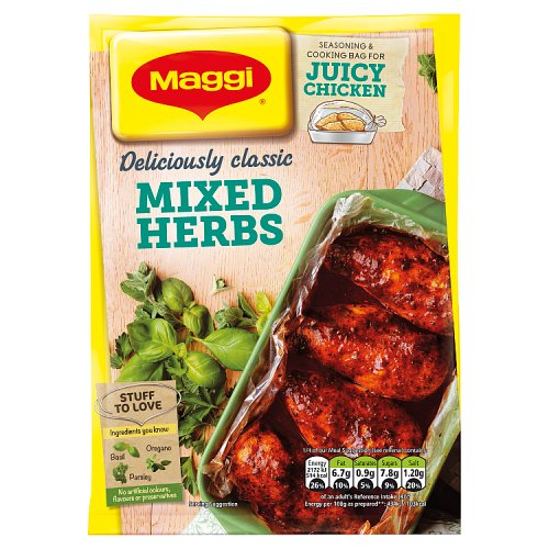 Maggi So Juicy Mixed Herbs For Chicken