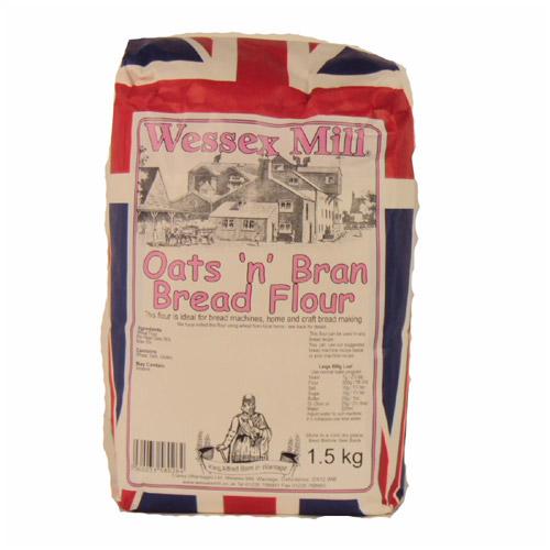Wessex Mill Oats n Bran Bread Flour