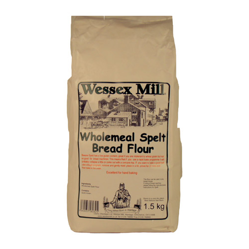 Wessex Mill Wholemeal Spelt Bread Flour