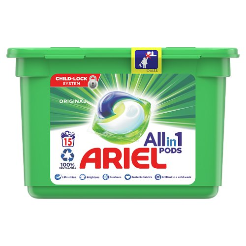Image of Ariel 3In1 Bio Pods 19 Washes