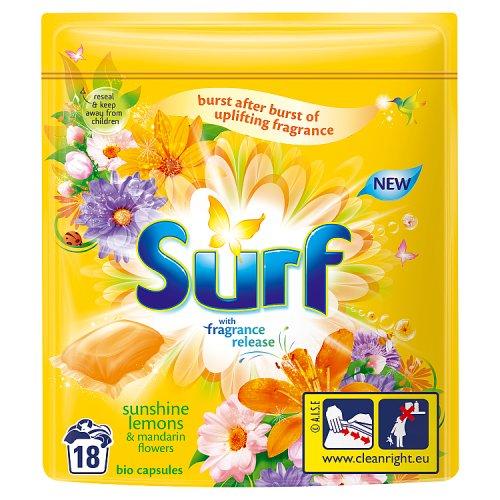 Image of Surf Capsules Sunshiny Lemon 18 Wash