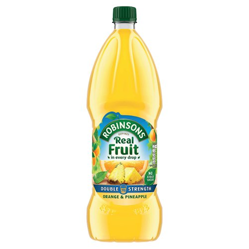 Robinsons No Added Sugar Double Concentrated Squash Orange & Pineapple 1.75L