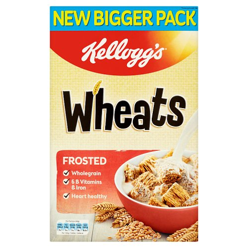 Kelloggs Frosted Wheats