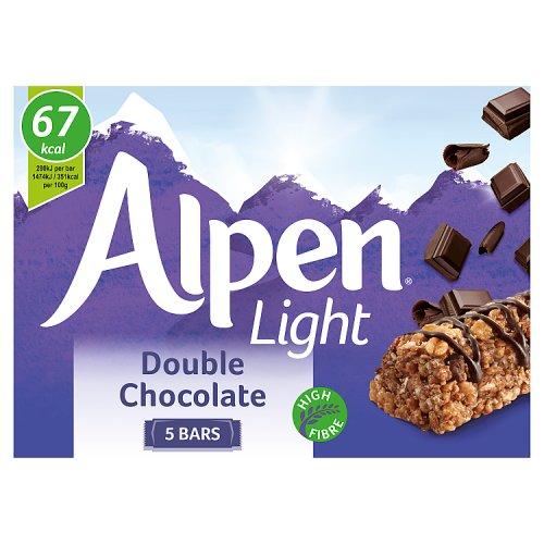 Alpen Light Bars Double Chocolate 5 Pack