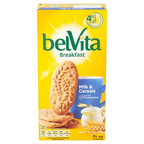 Belvita Milk & Cereal Biscuits 5 Pack