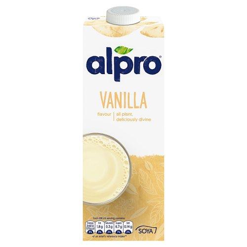 Alpro Soya Vanilla Drink Milk Milkshakes