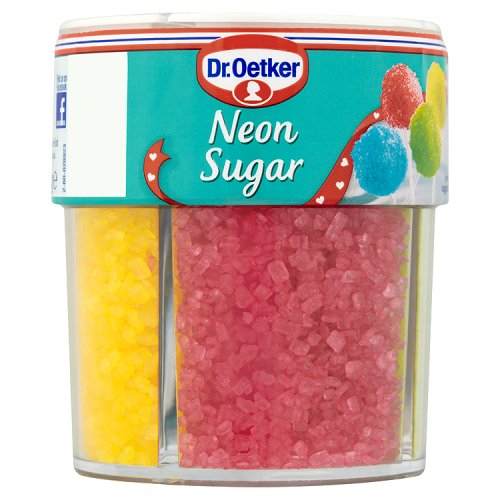 Dr. Oetker Neon Sugar 4 Cell Jar