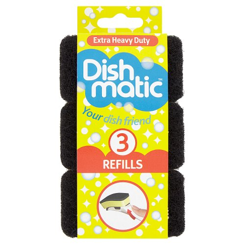 Image of Dishmatic Easy-Do Refill 3 Pack