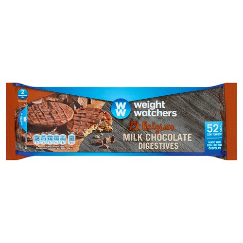 Weight Watchers Milk Chocolate Digestive Biscuits