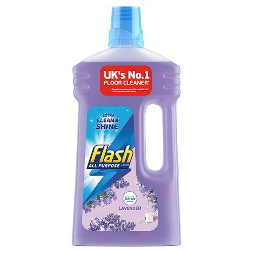 Flash Liquid All Purpose Floor Cleaner Lavender