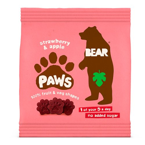 Bear Pure Fruit Paws Strawberry and Apple