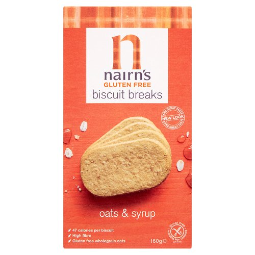 Nairns Gluten Free Biscuit Breaks Oats & Syrup