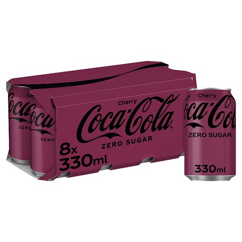 Coke Zero Cherry 8 Pack