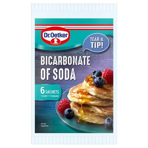 Dr Oetker Bicarbonate Of Soda Sachets 6 X 7g