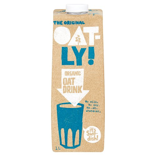Oatly Healthy Organic Oat Drink