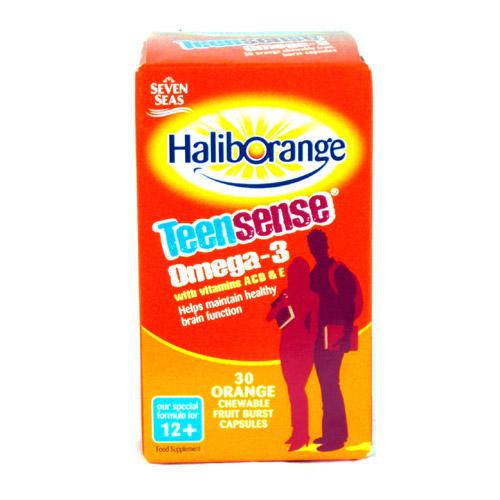 Haliborange Teensense Omega 3 Acde 30 Pack