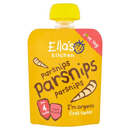 Ellas Kitchen 4 Months Parsnips Parsnips Parsnips