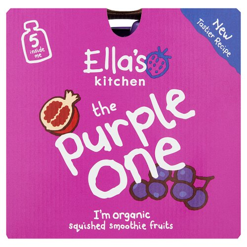 Ellas Kitchen 4 Months The Purple One 5 Pack