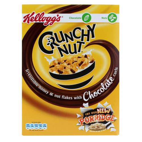 Kelloggs Crunchy Nut Chocolate Curls