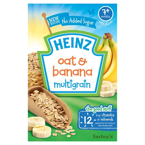 Heinz 7 Month Oat Amp Banana Cereal Packet