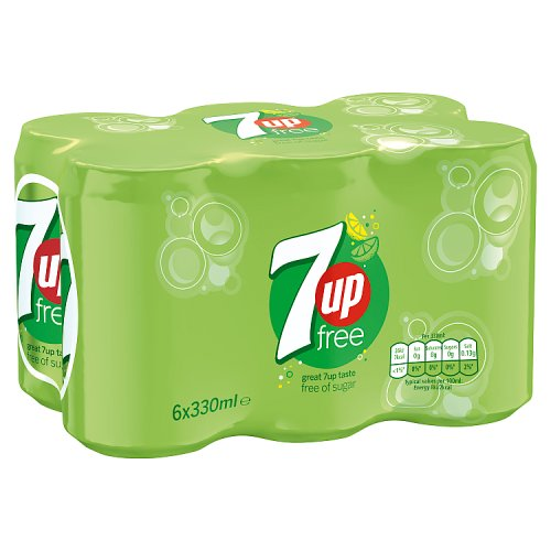 7up Light 6 x 330ml