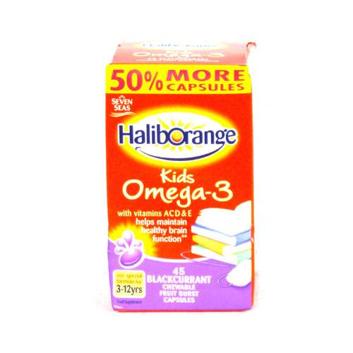 Haliborange DHA Kids Omega 3 & Vitamin A C D E 45 Pack