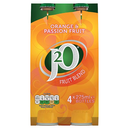 Britvic J2O Orange & Passionfruit 4x275ml