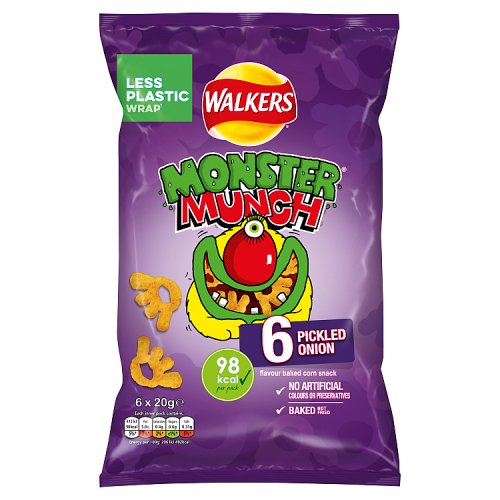 Monster Munch Pickled Onion 6 Pack