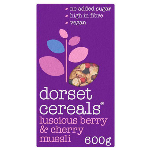Dorset Cereal Luscious Berries and Cherries