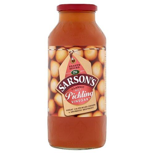 Sarson's Pickling Malt Vinegar - YouTube