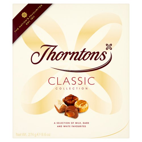 Thorntons Milk Chocolate Classic Selection Uk