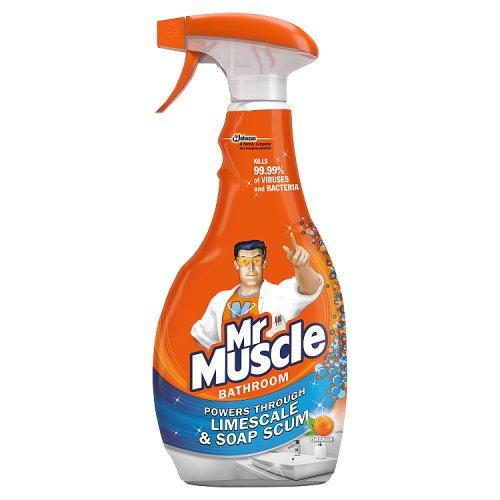 Image of Mr Muscle Bathroom & Toilet Cleaner Spray