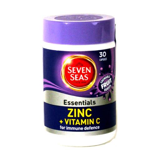 Seven Seas Chewable Zinc 30 Pack