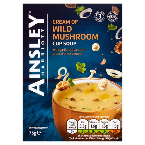 Ainsley Harriott Cup a Soup Mushroom 3 Pack