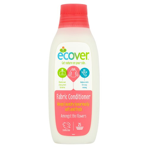 Image of Ecover Fabric Softener Amongst The Flowers