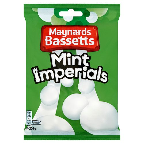 Cakes, Snacks & Sweets Bassetts Mint Imperials