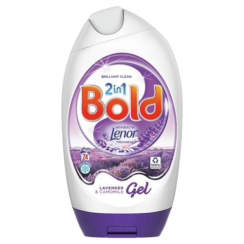 Image of Bold 2 in 1 Gel Lavender and Camomile 16 Wash