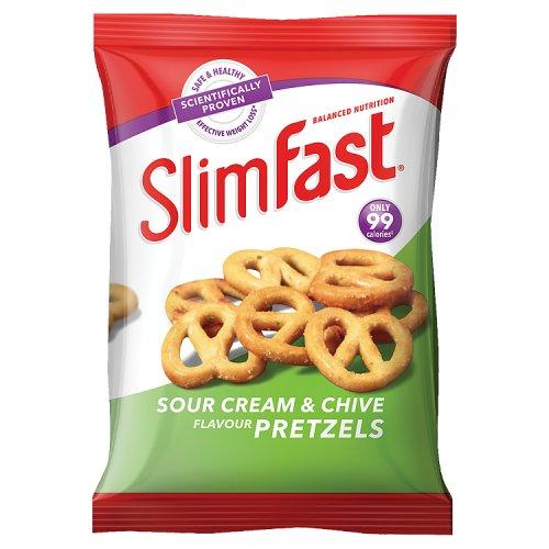 Slim Fast Sour Cream & Chives Pretzels