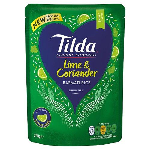 Tilda Steamed Lime & Coriander Basmati Rice