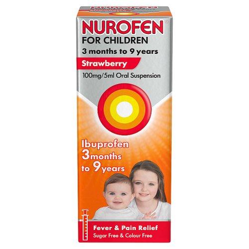 Ibuprofen and calpol