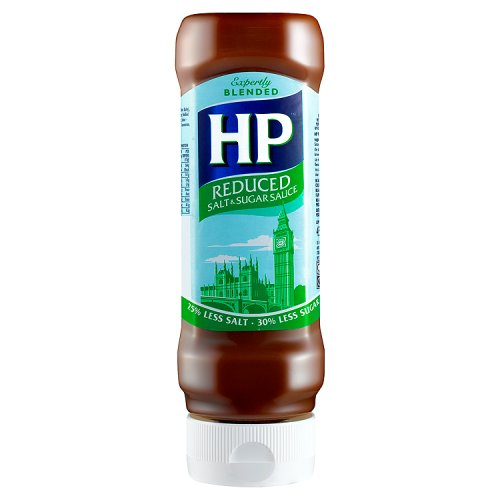 HP Reduced Sugar and Salt Brown Sauce