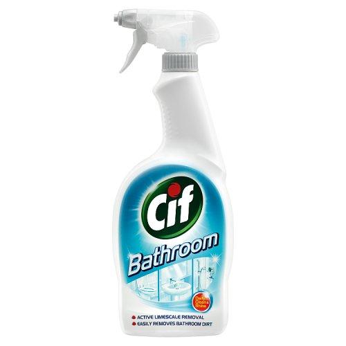 Cif Bathroom Spray Household Cleaners