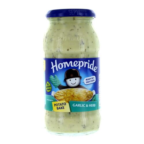 Homepride Potato Bake Garlic and Herb