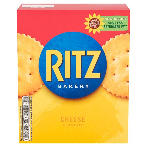 Ritz Cheese Crackers - Biscuits Crackers