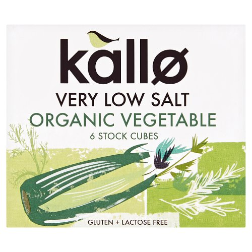 Kallo Organic Low Salt Vegetable Stock Cubes