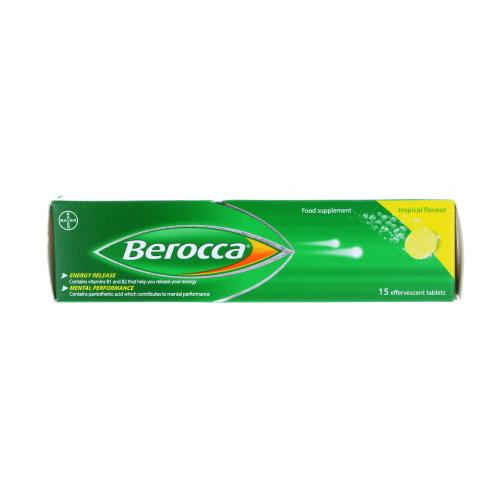 Berocca Effervescent Tropical 15 Pack