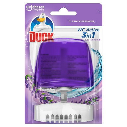 Duck 3 in 1 Liquid Rim Block Glade Purple Wave