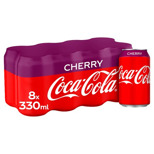 Cherry Coca Cola 330ml x 8