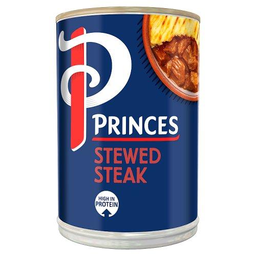 Princes Stewed Steak in Gravy - Tinned Meat Pies