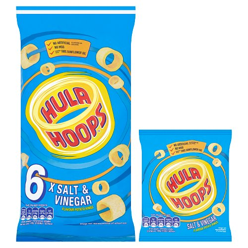 KP Hula Hoops Salt and Vinegar 6 Pack